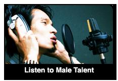Listen to Male Talent